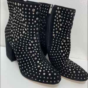 Vince Camuto Heavily Beaded Boots